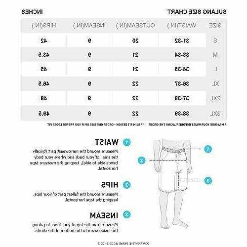 SULANG Men's Board Slim Dry