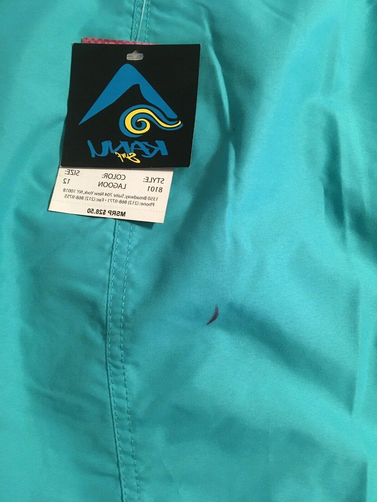 Kanu Surf Womens Board Shorts 8101 Lagoon, Slate Black