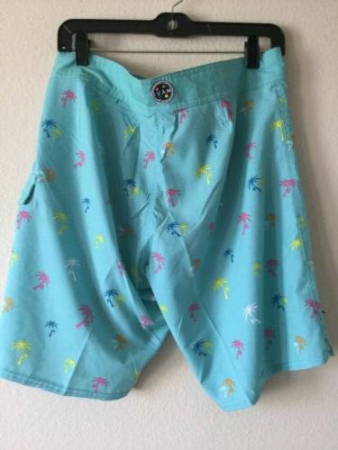 Maui And Shorts Blue Retro