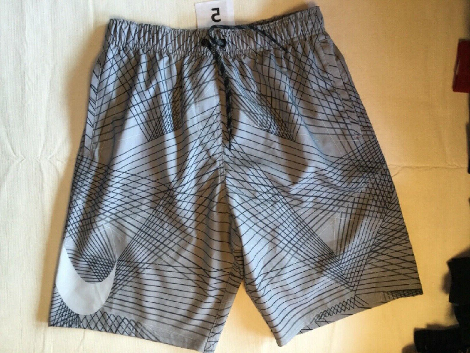 Nike Swim Suit Trunk Board Short Lined New Tags Men Black Or