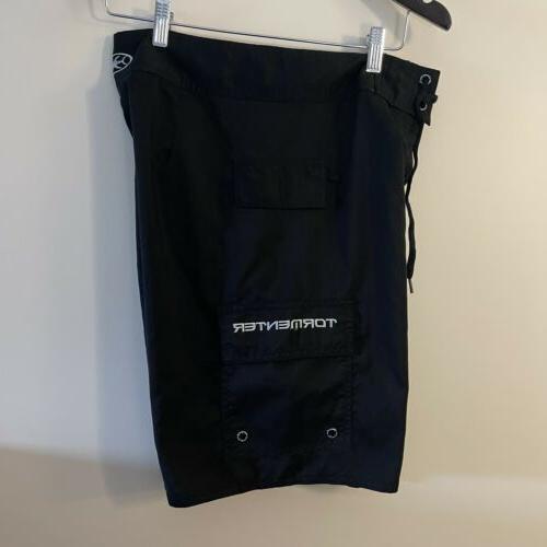 Tormenter Board Men's Size 30 5 Pocket Swim Black