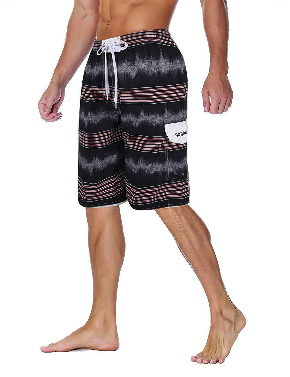 Unitop Swim Trunks Beach Shorts with Lining