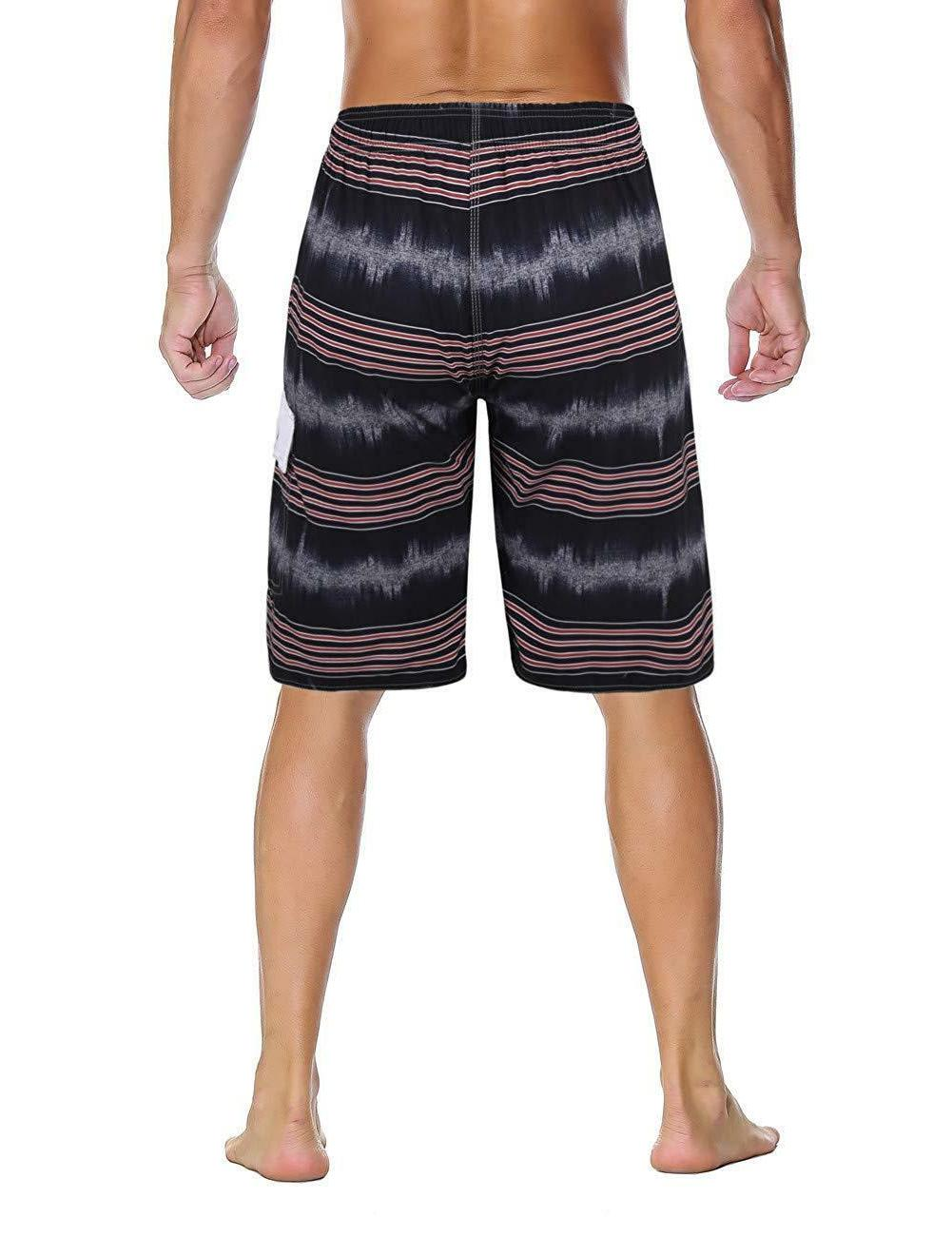 Unitop Men's Swim Trunks Beach Board Shorts