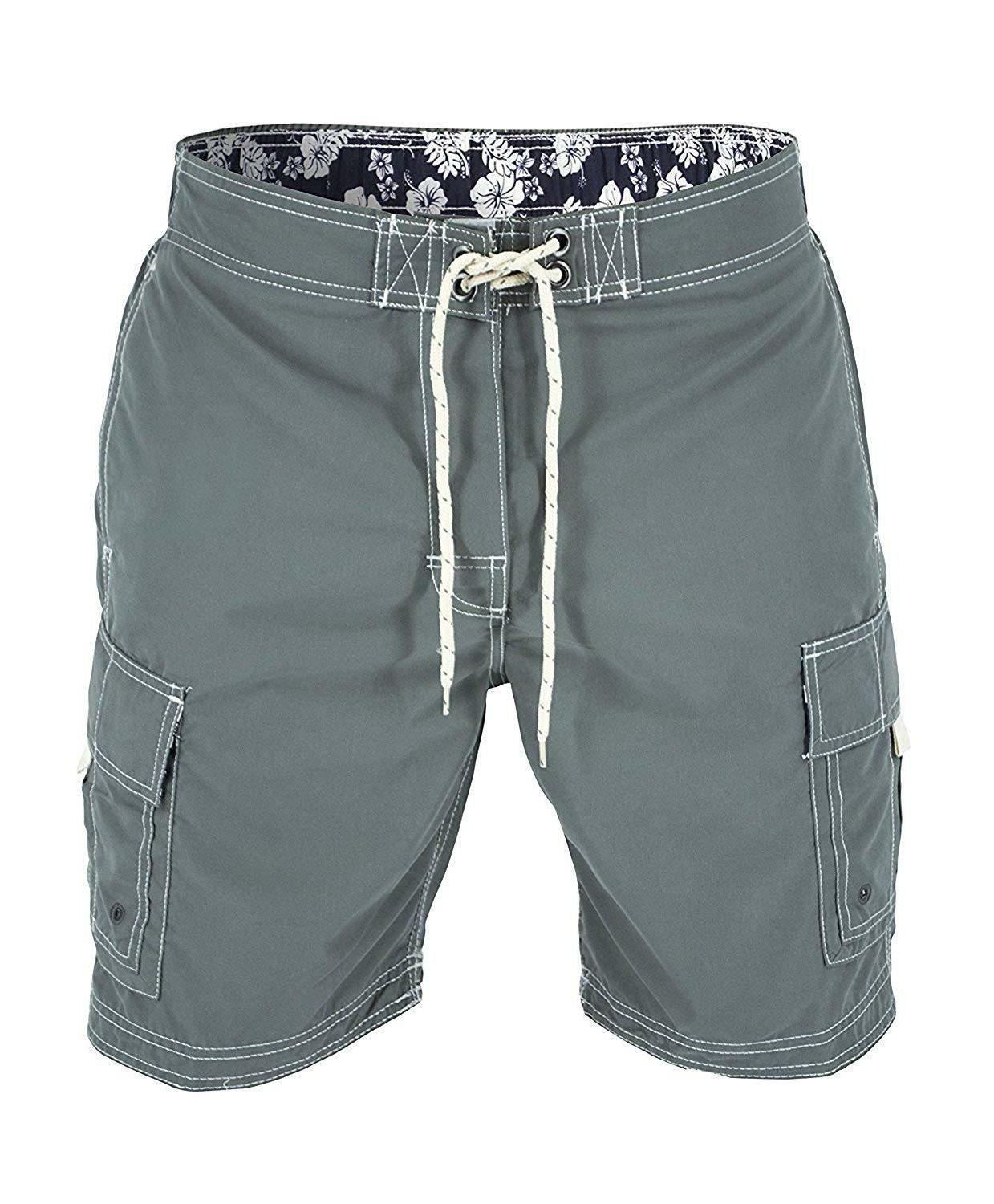 US Color Cargo Style Board Shorts