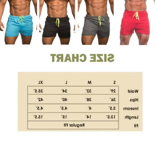 US Men's Gym shorts summer Short