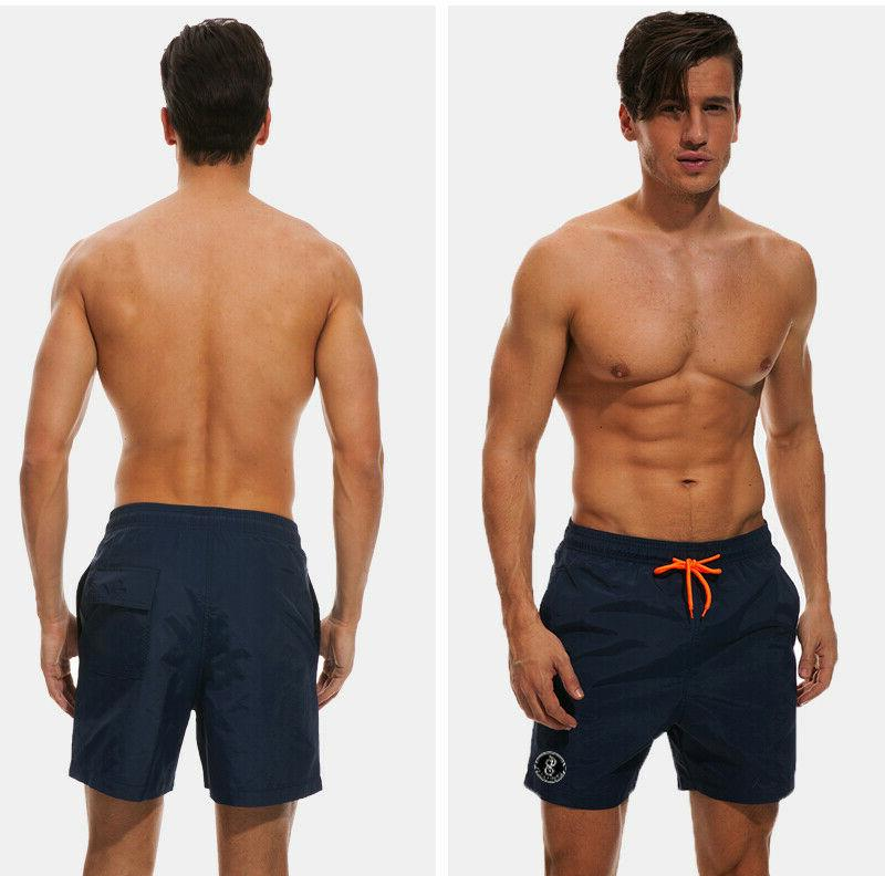 US Men Swimwear Gym Run Shorts Summer Beach Shorts