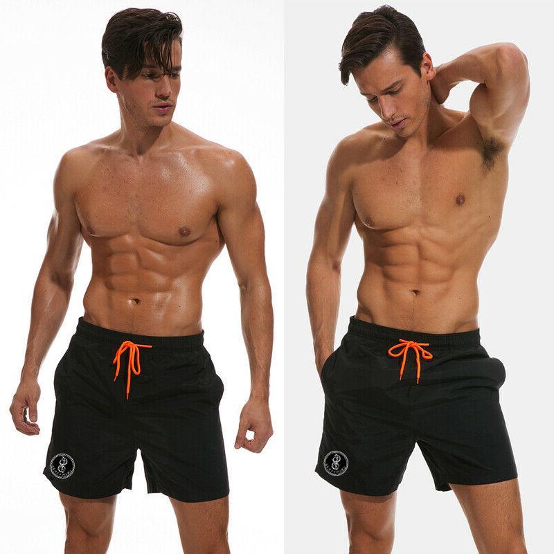 US Men Sports Gym Shorts Summer Beach
