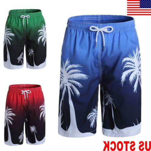 US Mens Quick-Dry Board Shorts Surf Beach Wear Swimming Carg