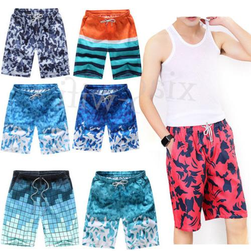 US Mens Board Travel Beachwear Boardshorts Trunks Pants