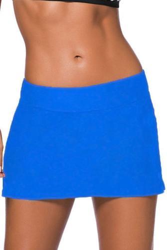 USA Skirted Swim Bottoms Swimsuit Beach Skirt