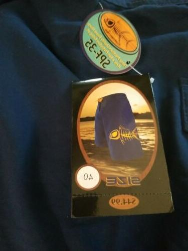 Waternan Tormenter Board Shorts 5 Pocket Blue Yellow