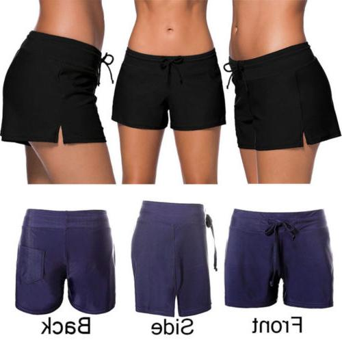 Women Relaxed Tankini Bottom Bikini Yoga