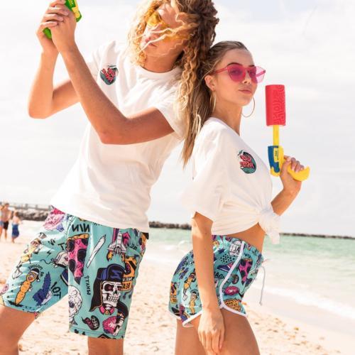 SULANG Summer Fashion Beach Board Shorts Ultra Quick Slim Fit,