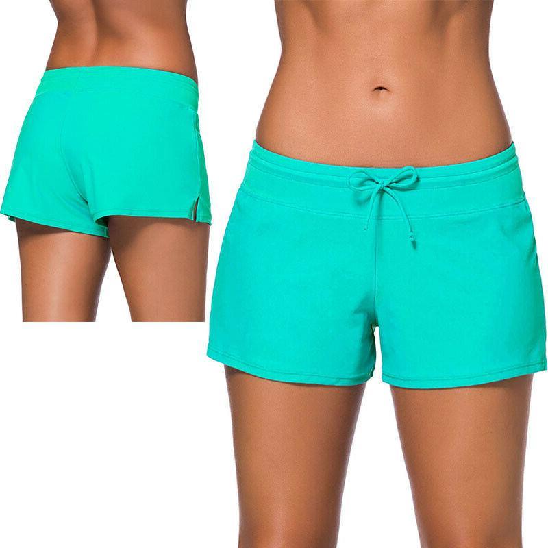 Women Bottom Boy Style Sports Swimwear US