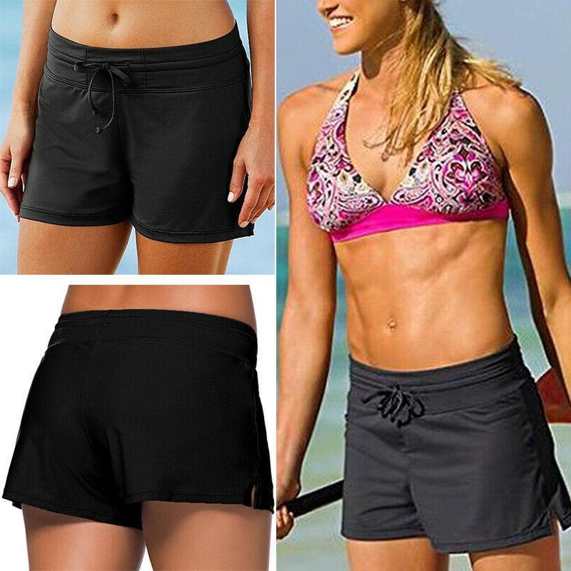 women swim shorts bikini bottom boy style