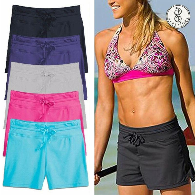 women swim shorts boardshorts ladies bikini brief