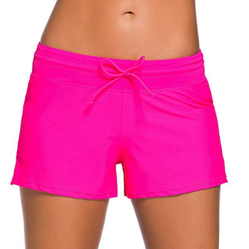 Women Swim Shorts Ladies Brief Beach Pants Bathing V8