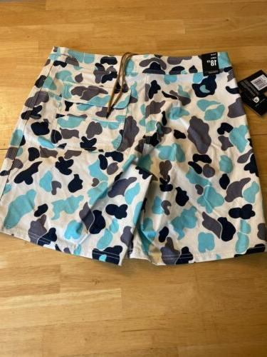 Hurley X Boardshorts Tropical Twist Size 32