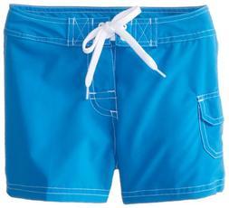 Kanu Surf Little Girls' Sassy Boardshorts, Royal, Large