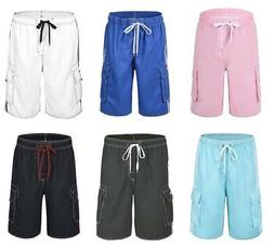 Nonwe Men Beachwear Board Shorts Quick Dry Mesh Lining Swim