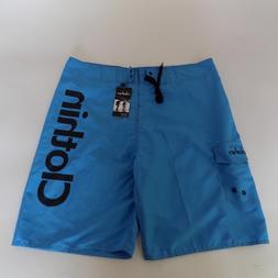 CLOTHIN Men Boardshort 38 fits 36 Quick Dry Beach Trunks Swi