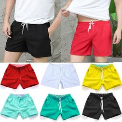 Men Boardshorts Surf Beach Shorts Quick Dry Swim Wear Sports
