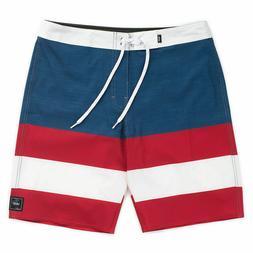 "VANS Men Boys Era Stripe Boardshorts Swim Trunks Size 26 19"""