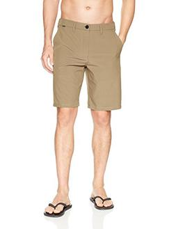 "Hurley Men's Phantom Hybrid Stretch 20"" Short, Khaki, 38"