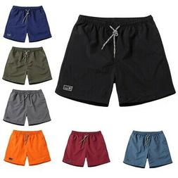 Men Quick Dry Sports Summer Shorts Board Pants Swim Beach Su