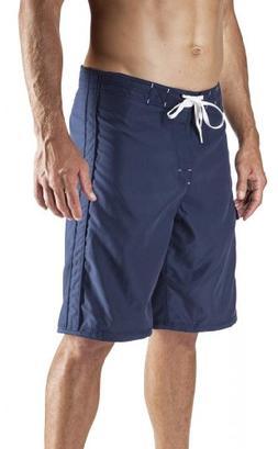 "Maui Rippers Men's 22"" Lifeguard Boardshorts Navy Blue 33"