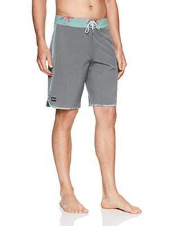 Billabong Men's 73 X Boardshort, Grey, 28