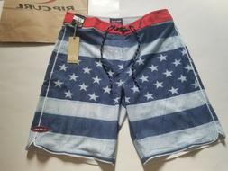 men s admiral american flag boardshorts swim
