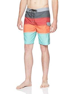 "Rip Curl Men's All Time 20"" Board Shorts, Red 18, 31"