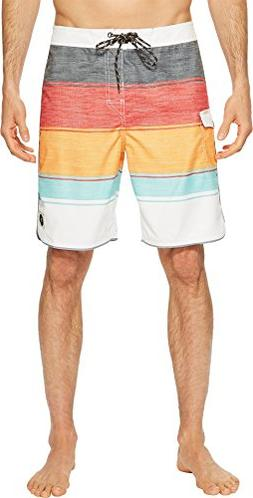 Rip Curl Men's All Time Boardshorts Orange Popsicle 1 34