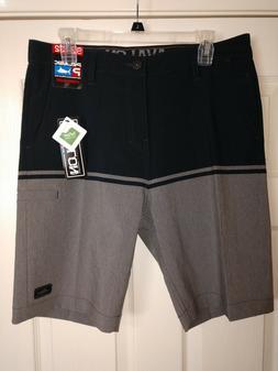 Pelagic Men's Avalon Greyline Hybrid Shorts Boardshorts NWT