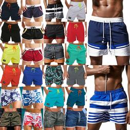 Mens Swim Trunks Beach Swimwear Quick Dry Swimsuit Swimming