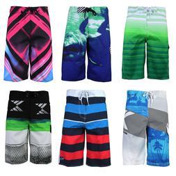 Surf Ocean Men's Beach Sport Swimwear Bathing Suit Trunks Sl