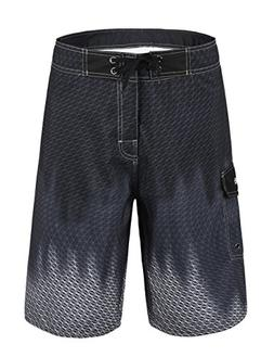 Nonwe Men's Beachwear Cool Quick Dry Board Shorts with Mesh