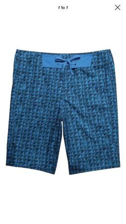 Under Armour Men`s Bergwind Boardshort, 34, ELECTRIC BLUE