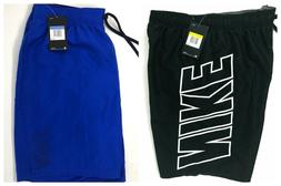 "Nike Men's Big Leg Logo 9"" Volley Swim Trunks Board Shorts B"