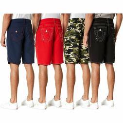 True Religion Men's Big T w/ Flap Pocket Boardshorts