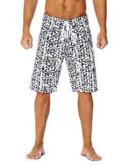 Unitop Men's Board Shorts Quick Dry Beach Shorts with Linnin