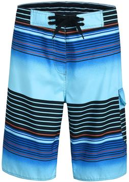 unitop Men's Board Shorts Summer Holiday Surf Trunks Quick D