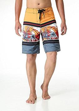 Milankerr Men's Board Shorts Swim Trunks