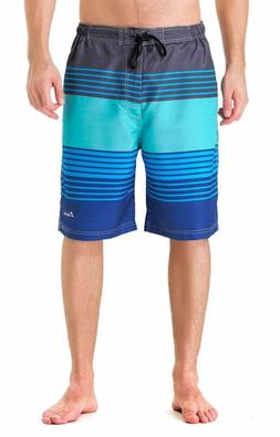 Clothin Men'S Boardshort Swim Trunks Beach Quick Dry Swimmin
