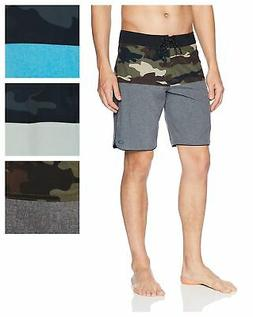 Oakley Men's Camo Block 19 Boardshorts Athletic Surf Swim Tr