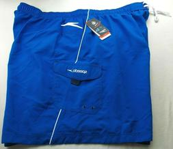 Speedo Men's Cargo Volley Swim Trunks Shorts Board Short 4X