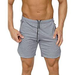 Men's Casual Shorts Loose Fit Multi-Pocket Work Short Stain