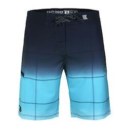 Men's Beach Vacation Quick Dry Swim Trunks Zip Pocket Swimwe