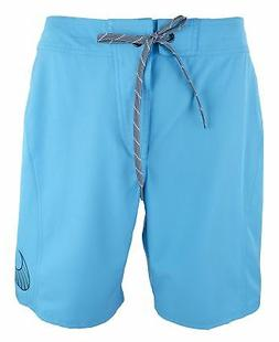 "NIKE Men's Core Swoosh 9"" Boardshort 34 Chlorine Blue"